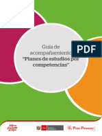 Guía de Acompañamiento. Planes de Estudios Por Competencias 2019, Tema 1