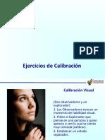 Ejercicios de calibración