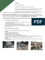 Contaminación Por Desechos Solidos
