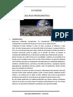 Informe Realidad Problematica Ecologia