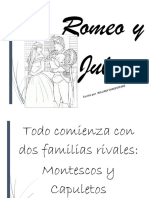 Narracion de Romeo y Julieta