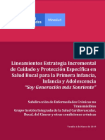 Lineamientos Soy Generacion Sonriente 2019