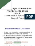 Etapas Do Projeto