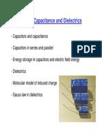 Capacitance Diaelectric