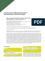 Febuxostat. y Cardiovascular. 2019. Metaanalisis