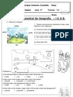Avaliação de Geografia I UDB-2019 - Cópia