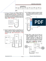 Sesión 3 - MECFLU - Estática de los fluidos - Presión - ejercicios.docx