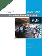 Plan de Gobierno Municipal 2020 - 2024 VP