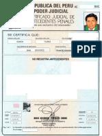 Antecedentes Penales Tomas Ramos Flores