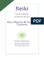 Reiki manual