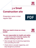 running-small-construction-site.ppt
