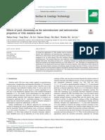 Effectos de Cromado en Microestrutura y Propiedades de Anticorrosion 316L