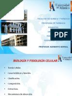 Biologia y Fisiologia Celular (Presentación) Cosmetico