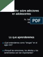Charla_Taller Sobre Adicciones y Adolescentes