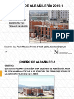 PPT 1.1 - Albañilería UPN
