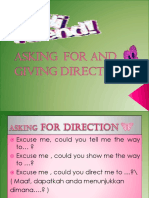 Asking and Giving Direction