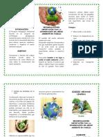 2019 Folleto Proyecto PRAE