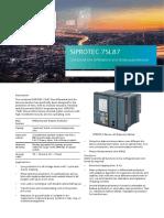 SIPROTEC 7SL87 Profile.pdf