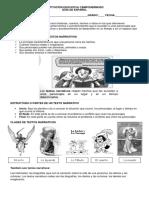 Guía # 8 Clases Textos Narrativos
