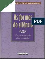 As formas do silêncio - No movimento dos sentidos - Eni Puccinelli Orlandi.pdf