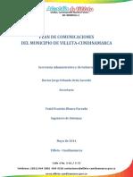 PLAN DE COMUNICACIONES DEL MUNICIPIO DE VILLETA-CUNDINAMARCA