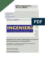 Revista Científica Ingeniería y Desarrollo