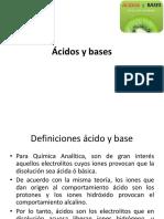 Equilibrio Acido Base Monoproticos