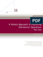 A Holistic Approach to Improving Distribution Operations Pt 1