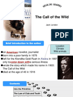 Introduction to the Call of the Wild