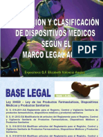 base legal de dispositivos medicos