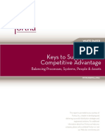Keys to Supply Chain Competitive Advantage