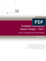 Profitable Distribution System Design Pt 1