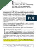 F-108 FORMATO ÁREAS RURALES - CUNDINAMARCA