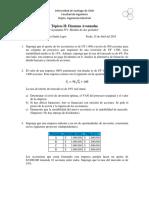 Finanzas Avanzadas- Ayudantía 1 2019