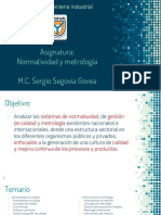 Normalizacion y Metrología U1