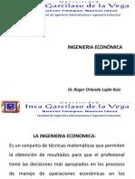 1- Curso de Ingenieria Economica - Semana 1 - Ingeniería Económica (1)