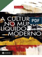 A cultura no mundo líquido moderno - Bauman.pdf