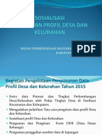 PPT Profil Desa Dan Kelurahan