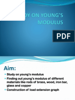 Study on Young's Modulus