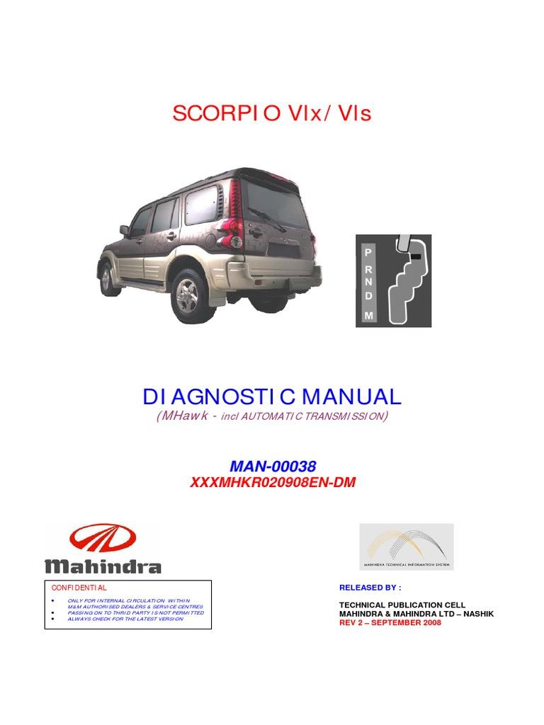 SCORPIO VLX - DIAGNOSTICE MANUAL -mHAWK-Rev2 pdf   Fuel