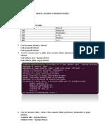 Grupos Usarios, Permisos, Linux