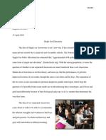 final paper english