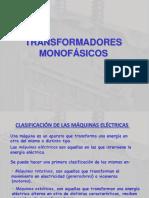 transformadores monofasicos.