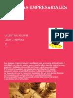 Finanzas Empresariales Leidy Otalvaro y Valentina Aguirre