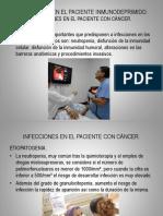 Infecciones en El Paciente Inmunodeprimido2