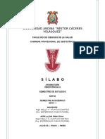 Silabo 2019 - i Nelly Huatuco Obstetricia II 3 de Abril