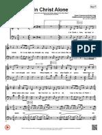 In Christ Alone Kristian Stanfillpassion Band - f - Choir Sheet Satb