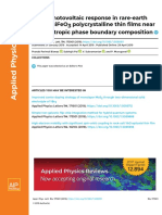 Large Photovoltaic Response in Rare-earth Doped BiFeO3 Polycrystalline Thin Films Near Morphotropic Phase Boundary Composition