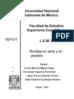 LEM 2 Bombas en Serie y Paralelo