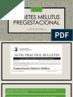 Diabetes Mellitus Pregestacional